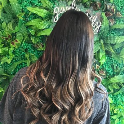 hair page and hair extension gallery